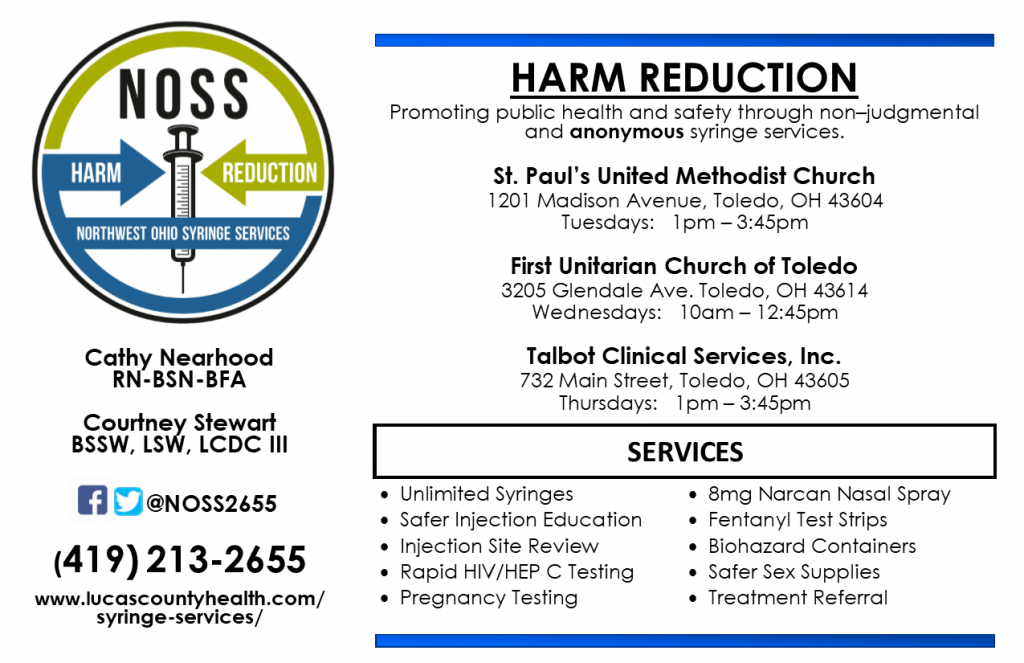 Harm Reduction Brochure